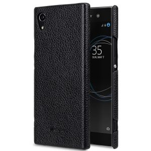 Melkco Premium Leather Snap Cover for Sony Xperia XA1 - ( Black LC )