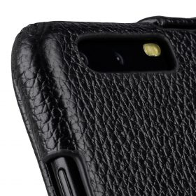 Melkco Premium Leather Case for Huawei P10 – Jacka Type ( Black LC )
