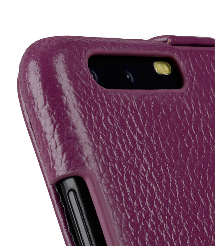Melkco Premium Leather Case for Huawei P10 - Jacka Type ( Purple LC )
