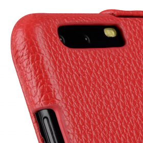 Melkco Premium Leather Case for Huawei P10 – Jacka Type ( Red LC )