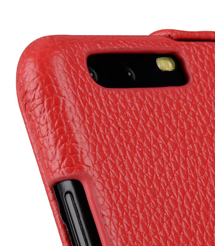 Melkco Premium Leather Case for Huawei P10 - Jacka Type ( Red LC )