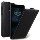Premium Leather Case for Nokia 6 – Jacka Type (Black LC)