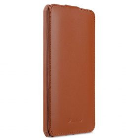 Premium Leather Case for Nokia 6 – Jacka Type (Brown CH)