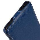 Premium Leather Case for Nokia 6 – Jacka Type (Dark Blue LC)