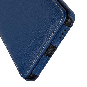 Premium Leather Case for Nokia 6 - Jacka Type (Dark Blue LC)