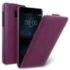 Premium Leather Case for Nokia 6 – Jacka Type (Purple LC)
