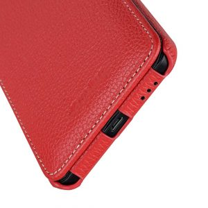 Premium Leather Case for Nokia 6 - Jacka Type (Red LC)