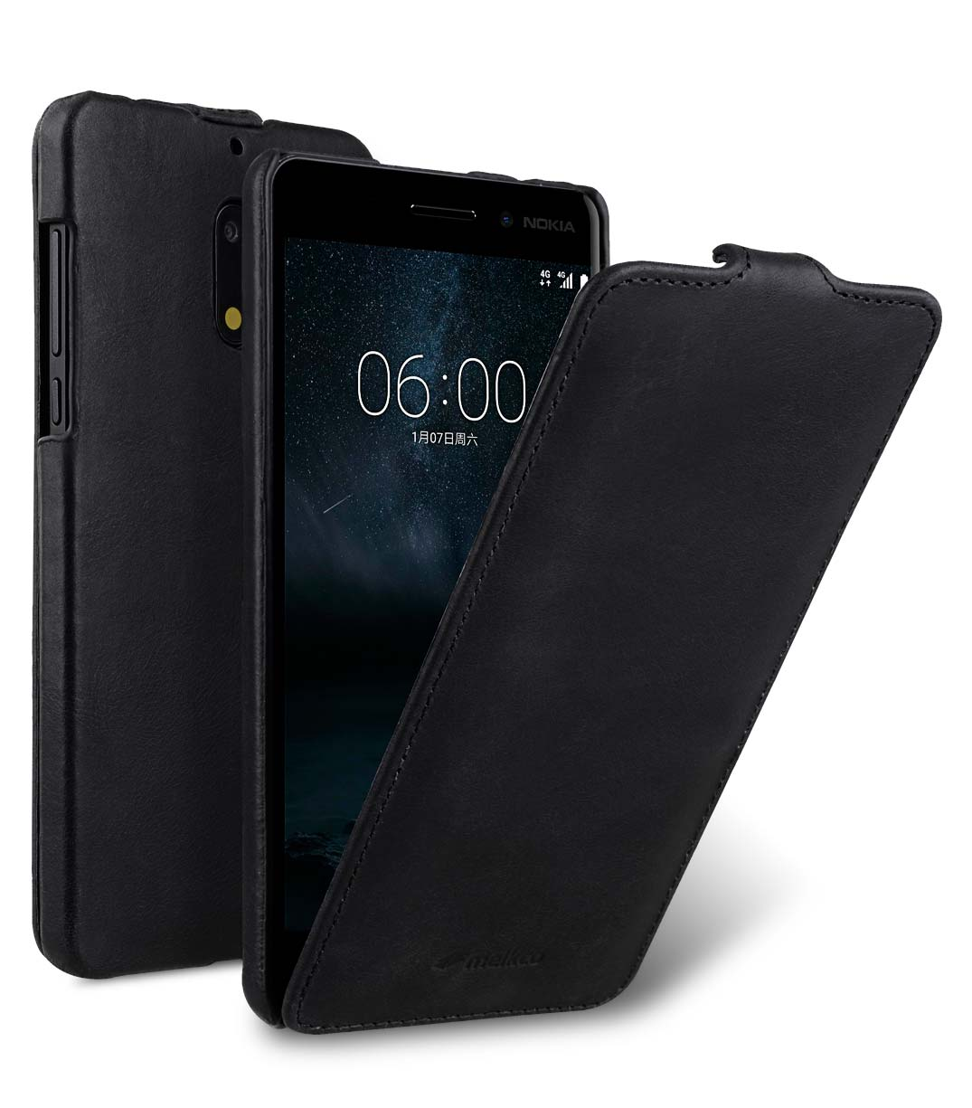 Premium Leather Case for Nokia 6 - Jacka Type