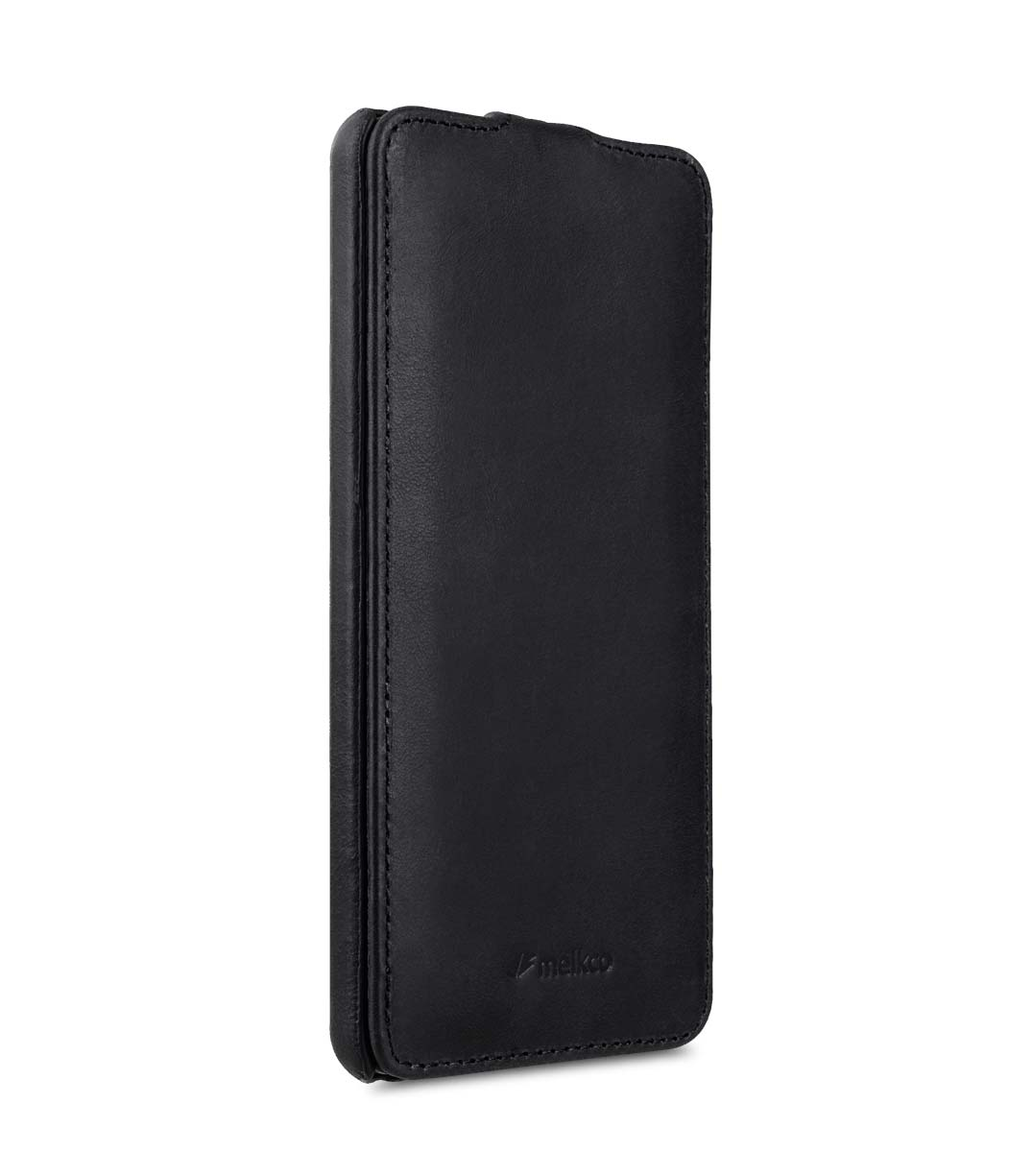 Premium Leather Case for Nokia 6 - Jacka Type (Vintage Black)