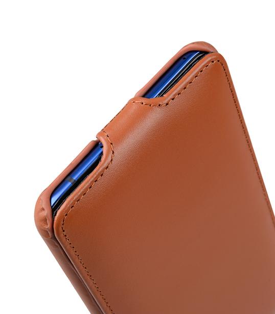 Melkco Premium Leather Case for HTC U Ultra - Jacka Type ( Brown )