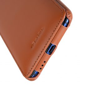 Melkco Premium Leather Case for HTC U Ultra – Jacka Type ( Brown )