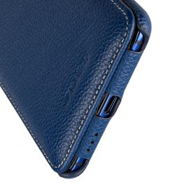 Melkco Premium Leather Case for HTC U Ultra – Jacka Type ( Dark Blue LC )