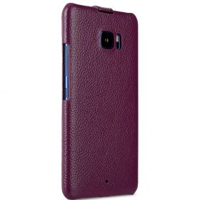 Melkco Premium Leather Case for HTC U Ultra – Jacka Type ( Purple LC )