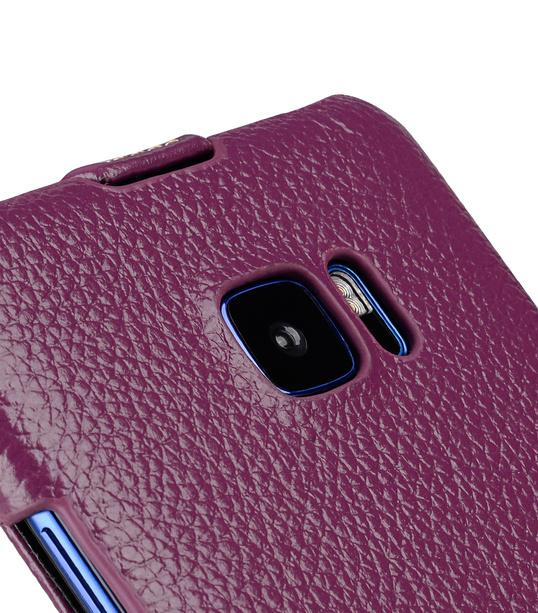 Melkco Premium Leather Case for HTC U Ultra - Jacka Type ( Purple LC )