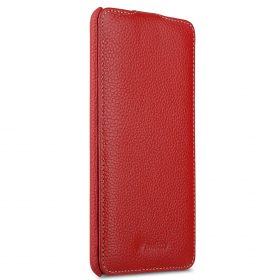 Melkco Premium Leather Case for HTC U Ultra – Jacka Type ( Red LC )