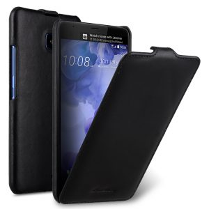 Melkco Premium Leather Case for HTC U Ultra - Jacka Type ( Vintage Black )