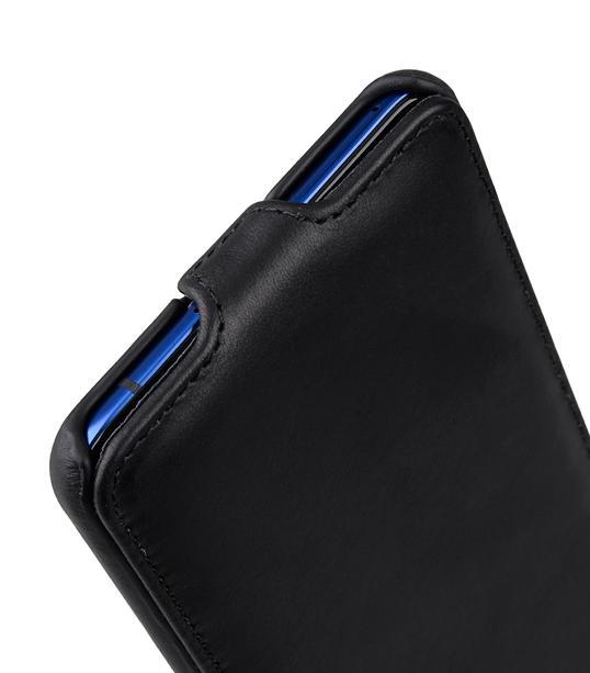 Melkco Premium Leather Case for HTC U Ultra - Jacka Type ( Vintage Black )