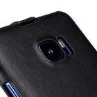 Melkco Premium Leather Case for HTC U Ultra – Jacka Type ( Vintage Black )