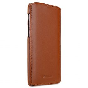 Premium Leather Case for One Plus 3 / 3T – Jacka Type (Brown CH)