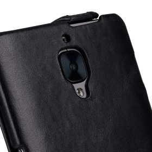 Premium Leather Case for One Plus 3 / 3T – Jacka Type (Vintage Black)