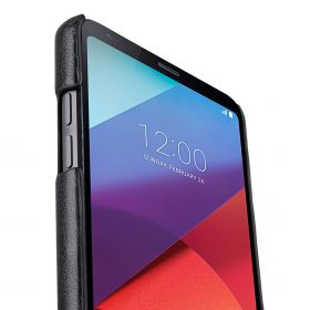 Melkco PU Leather Case for LG G6 – Dual Card Slots ( Black )