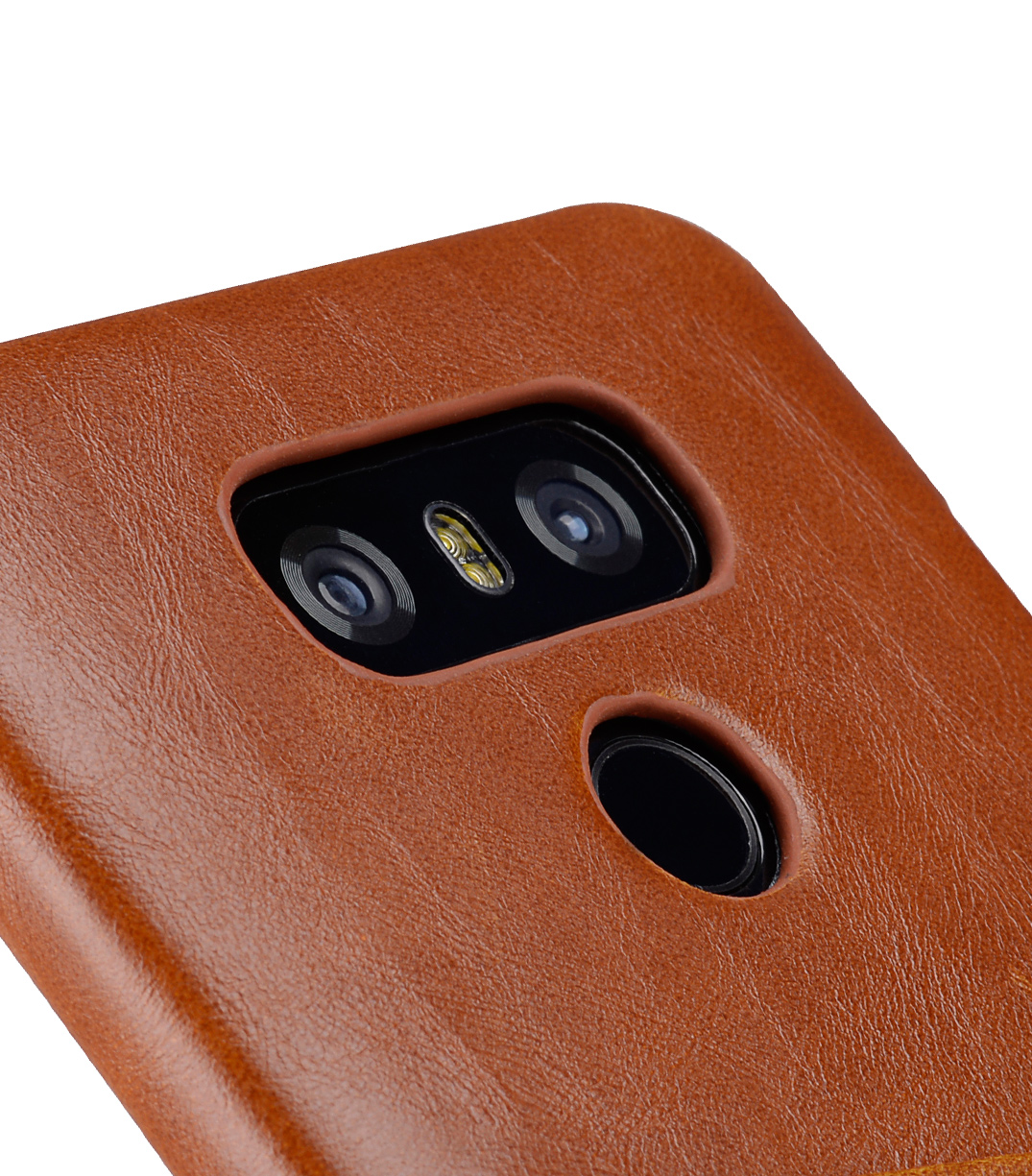 Melkco PU Leather Case for LG G6 - Dual Card Slots ( Brown CH )