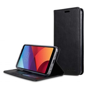 Book Type Series PU Leather Case for LG G6 - Livia Book Type