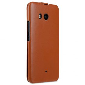 Premium Leather Case for HTC U11 – Jacka Type (Brown CH)