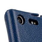 Premium Leather Case for Sony Xperia XZ Premium – Jacka Type (Dark Blue LC)