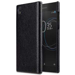 Premium Leather Snap Cover for Sony Xperia L1