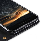 Fashion Cocktail Series Slim Flip Case for Apple iPhone X – (Black Cross Pattern)