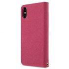 Fashion Cocktail Series Slim Flip Case for Apple iPhone X – (Peach)