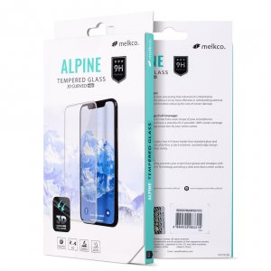 Melkco 3D Curvy 9H Tempered Glass Screen Protector for Apple iPhone XS Max - ( Transparent )