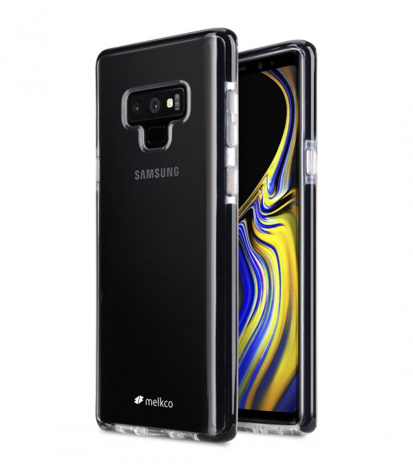Melkco Clear Supreme Guard Case for Samsung Galaxy Note 9 - ( Transparent / Black )