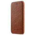 Melkco Premium Leather Coaming Facecover Back Slot Case for Apple iPhone 6s / 6 (4.7 - (Tan WF)