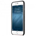 "Melkco Elite Series Waxfall Pattern Premium Leather Coaming Pocket Case for Apple iPhone 6s / 6 (4.7"") - ( Black WF )"