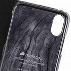 Melkco Fashion Cocktail Series Slim Flip Premium Leather Case for Apple iPhone X – (Italian Brown)