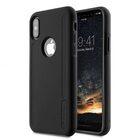 Melkco Kubalt Double Layer Case Special Edition for Apple iPhone X – (Black/Black)
