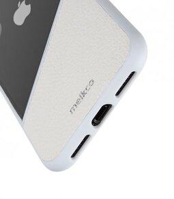 Melkco Kubalt Series Edelman Rugged Case for Apple iPhone X - (Beige / Beige)
