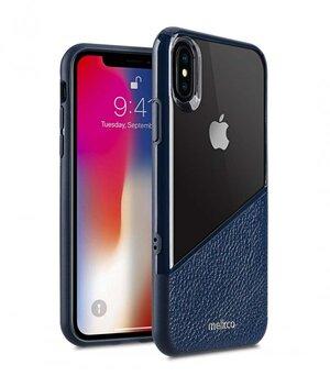 Melkco Kubalt Series Edelman Rugged Case for Apple iPhone X - (Blue / Blue)