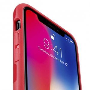 Melkco Kubalt Series Edelman Rugged Case for Apple iPhone X - (Red / Red)