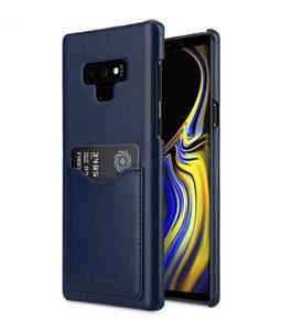 Melkco Premium Leather Card Slot Cove Case for Samsung Galaxy Note 9 - (Dark Blue LC)Ver.2
