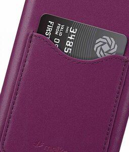 Melkco Premium Leather Card Slot Cover Case for Samsung Galaxy Note 9 - (Purple)Ver.2