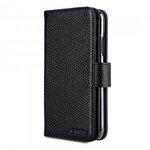 Melkco Premium Leather Type Case for Apple iPhone XR - Wallet Plus Book (Black LC)