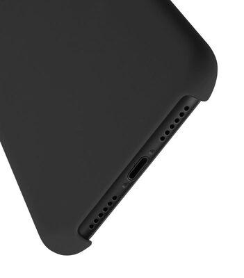 "Melkco Aqua Silicone Case for Apple iPhone XR (6.1"") - ( Black )"