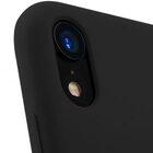 "Melkco Aqua Silicone Case for Apple iPhone XR (6.1"") – ( Black )"
