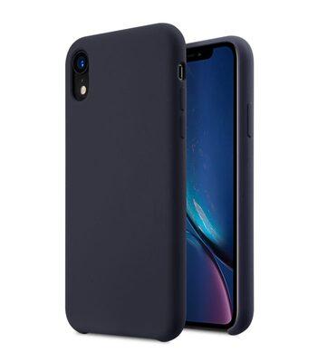 "Melkco Aqua Silicone Case for Apple iPhone XR (6.1"") - ( Dark Blue )"