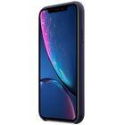 "Melkco Aqua Silicone Case for Apple iPhone XR (6.1"") – ( Dark Blue )"