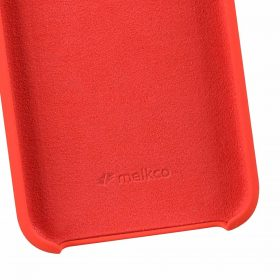 """Melkco Aqua Silicone Case for Apple iPhone XR (6.1"""") – ( Red )"""