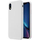 "Melkco Aqua Silicone Case for Apple iPhone XR (6.1"") – ( White )"